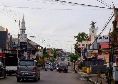 Downtown Tomohon