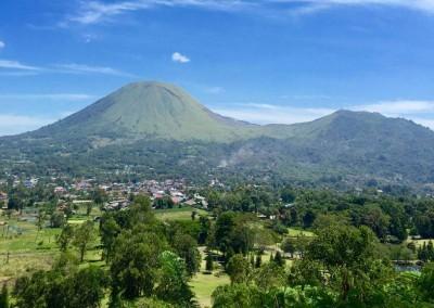 Lokon & Empung twin volcano